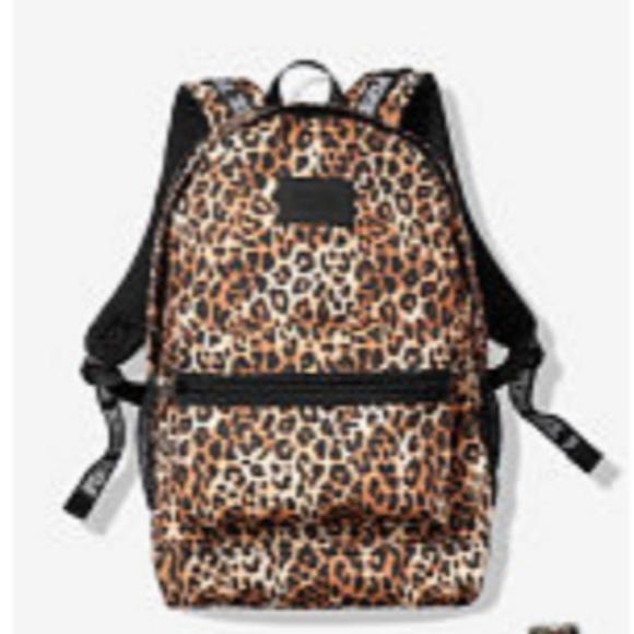8119805bb436 PINK Victoria's Secret Bags   New Victorias Secret Pink Cheetah ...
